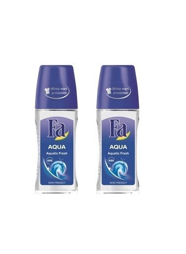 Fa Fa Aqua  Roll-On  50 Ml  2'Li Paket Renksiz